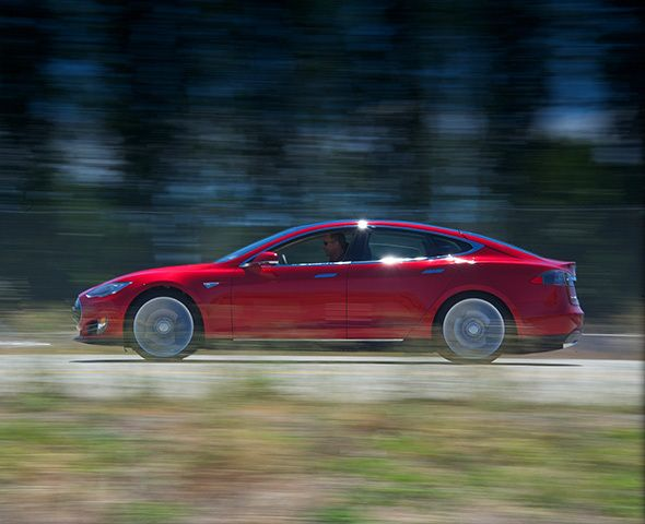 Tesla sedan gets best Consumer Reports auto review of all time