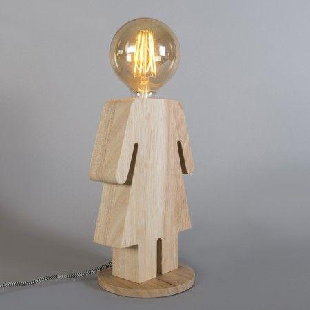 Fr Den Nachttisch Oder Wohnzimmertisch Tischleuchte Eva Spricht Sich Und Bedarf Keiner Weiteren Erklrung Suchen Sie Eine Besondere Leuchte
