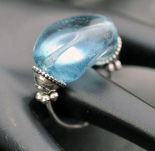 Modrý prstýnek