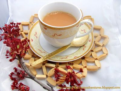Masala Chai Indian Tea recipe Ginger Cardamom Cloves Cinnamon Tea