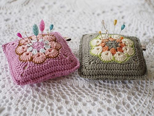 Pretty Pin Cushions sold online by Messyla