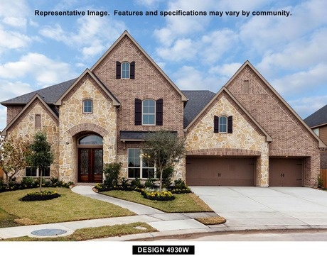 4930W by Perry Homes at Firethorne: Firethorne 80'