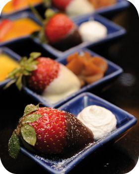 Tapas dessert, an idea from Spain.