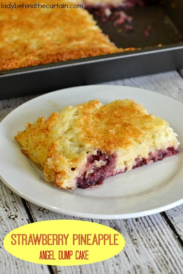Dump Cake Recipes Without Pineapple