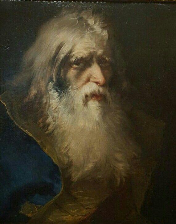 Giandomenico. Testa di uomo barbuto. Musei Civici di Pavia.