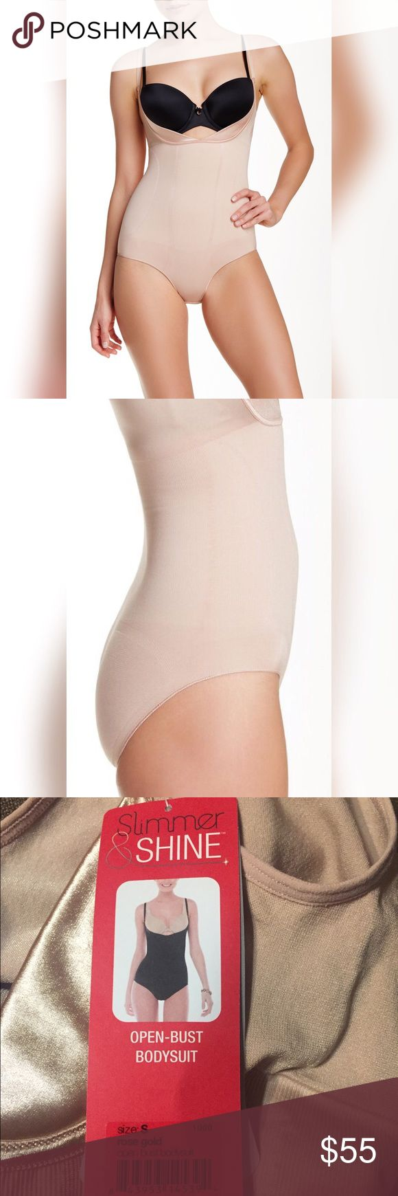 🆕 SPANX Open Bust Bodysuit ROSE GOLD Spanx Bodysuit. A must have to create a beautiful silhouette 😉😀👍. Style 1060 (Sold Out EVERYWHERE ‼️) SPANX Intimates & Sleepwear Shapewear