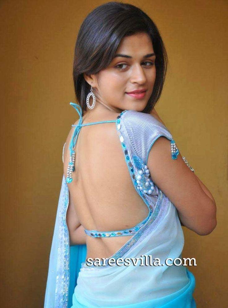Shraddha Das In Backless Blouse