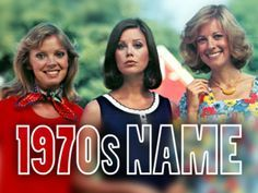 Quiz: What is your 1970s name?