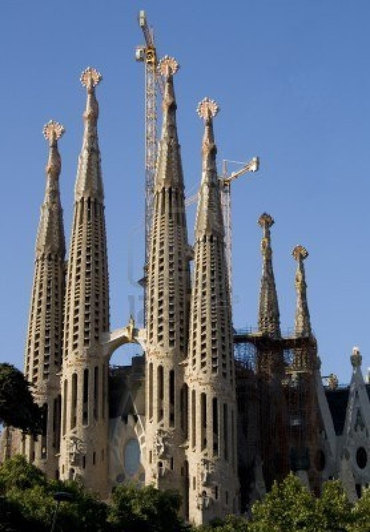 Sagrada familia antonio gaudi interesting buildings for Architecture gaudi