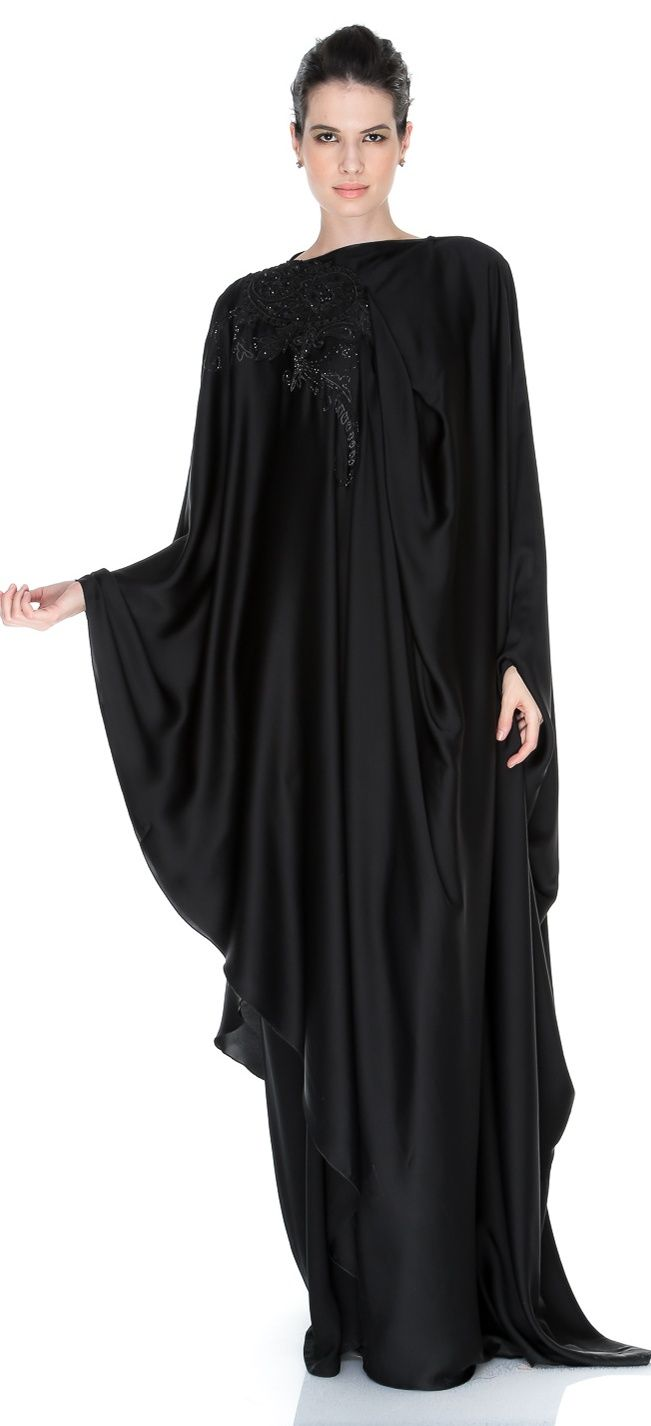 Daily Wear Black Modern Abayas Fashion 2013