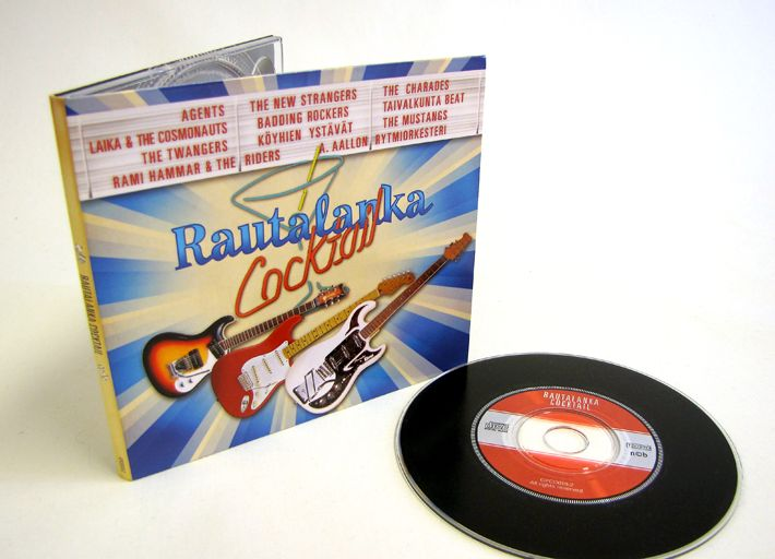 Rautalanka Cocktail CD cover design