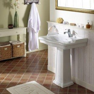 1000 id es sur le th me lavabos de salle de bain r tro sur - Meuble lavabo sur pied ...