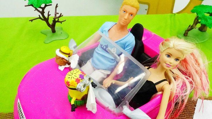 Ютуб канал и детские игры для девочек: Кен чинит детские машинки для Бар...