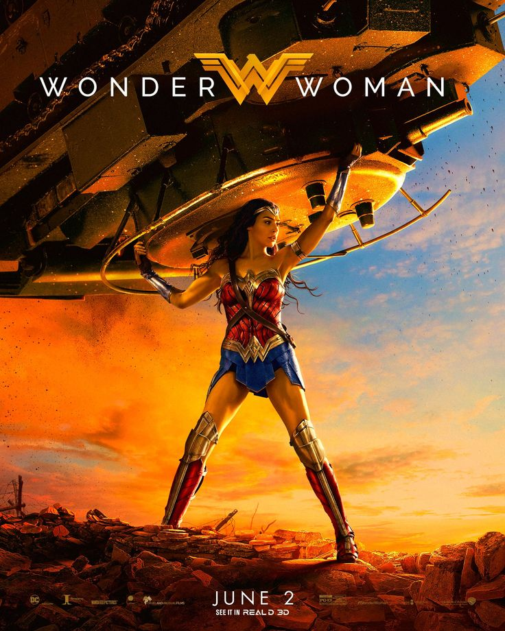 WONDER WOMAN Ushers In The Dawn Of A New Age On This Majestic New Poster