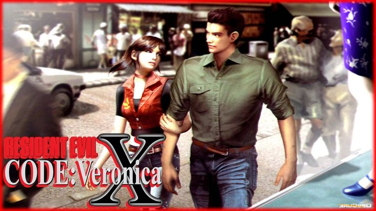 Resident Evil Code: Veronica X HD playthrough. Chris Redfield