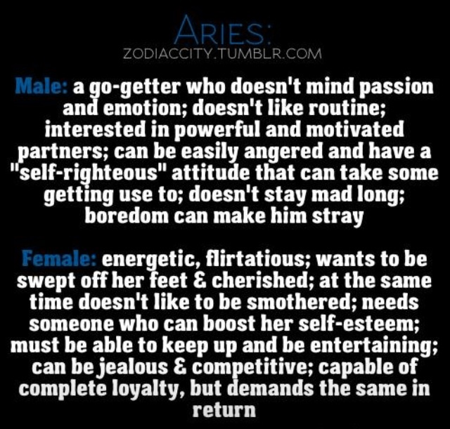 Female #aries #zodiac