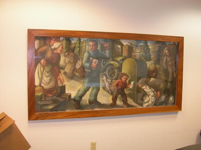 Westerville Ohio Mural
