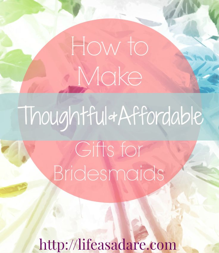 Here are some great ideas for bridesmaids or just birthday presents in general! All natural products and super cute and fun! Like a spa-in-a-box!