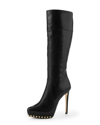 Ailee Studded Tall Boot by MICHAEL Michael Kors at Neiman Marcus.