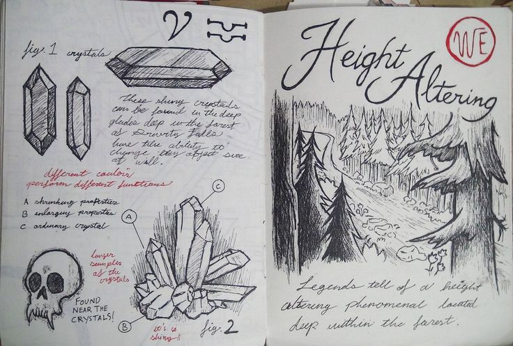 Gravity Falls Journal 3 Replica - Height Altering by leoflynn.deviantart.com on @deviantART