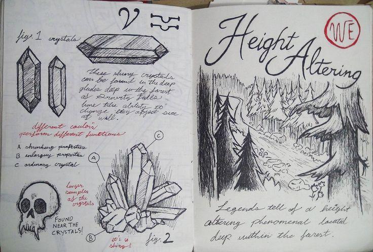 Gravity Falls Journal 3 Replica - Height Altering by leoflynn.deviantart.com on @deviantART