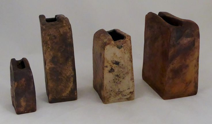 Collection Mobach vases found on Dutch Art Pottery