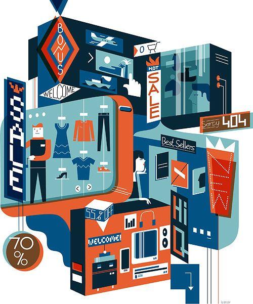 illustration / january-june 13 on Behance