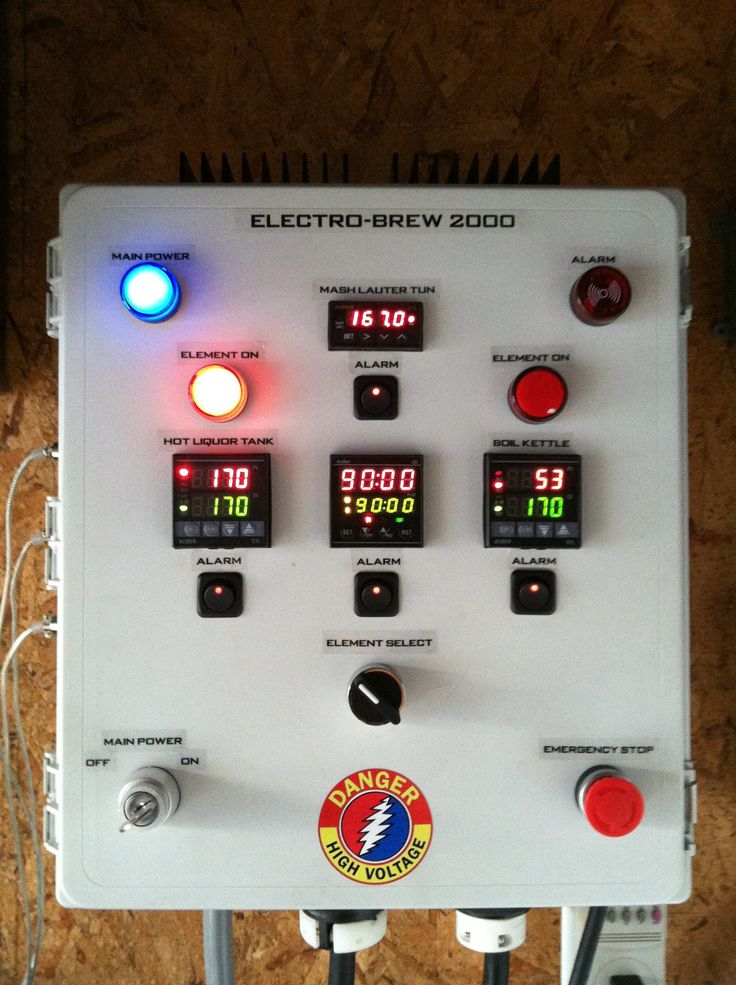 109 Best Images About Brewing Control Panels On