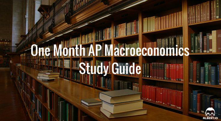 One Month AP Macroeconomics Study Guide