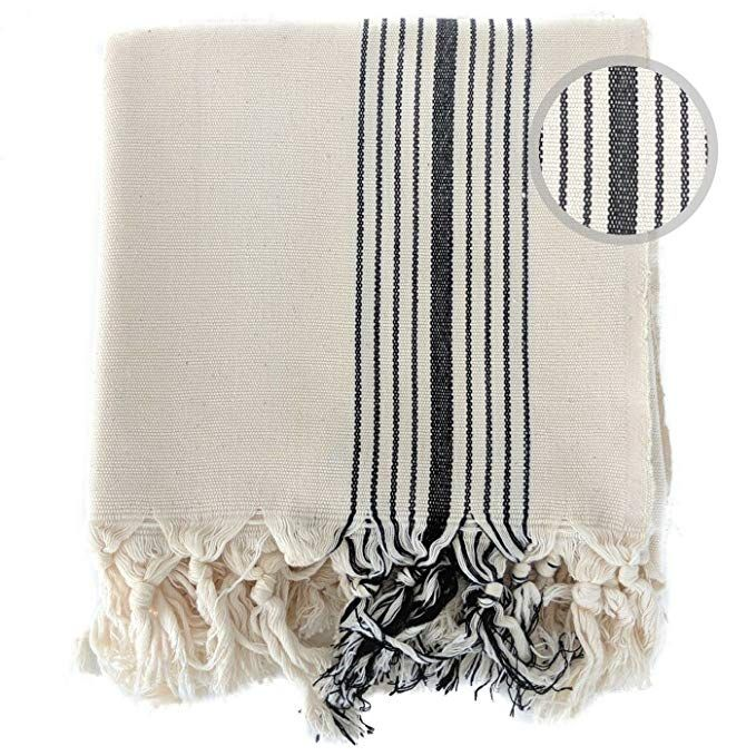 The Loomia Handloom Turkish Towel Zebrine Peshtemal Series 100