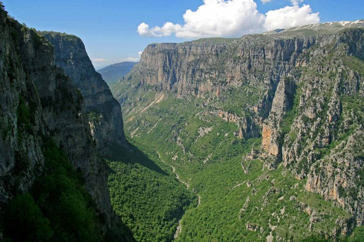 national park of rivers vikos-aoos epirus greece