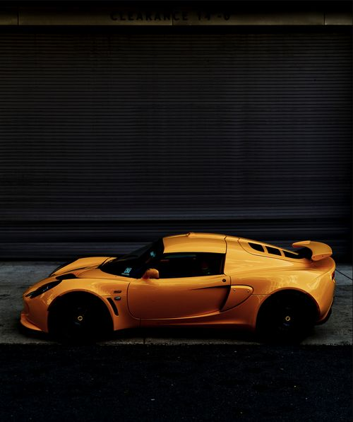 amazing Orange ^^ Exige S Lotus