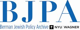 BJPA @ NYU Wagner  A short article for Jewish Education News on the CAJE Early Childhood List Serv