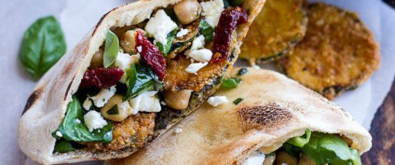 Vegetarian Sandwiches Worth Writing Home About- You won't even miss the deli meat. @huffposttaste