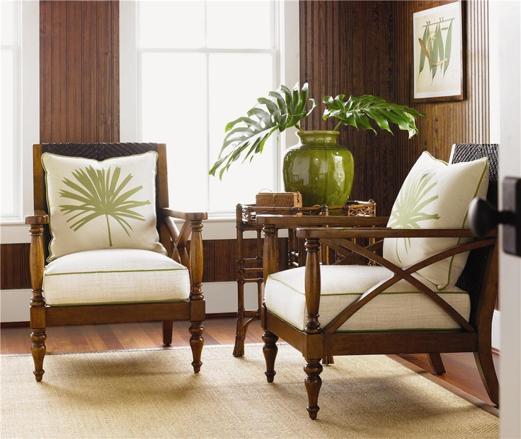 25 best TROPICAL ISLAND images on Pinterest Tommy bahama - tropical living room furniture