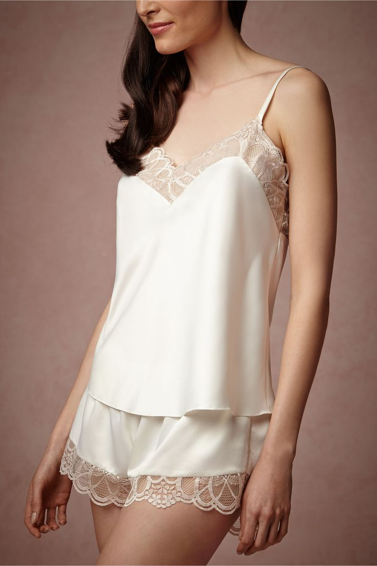 Cosette Camisole from BHLDN. Match with Cosette Kimono and shorts.