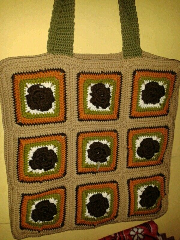 Love it..crochet bag