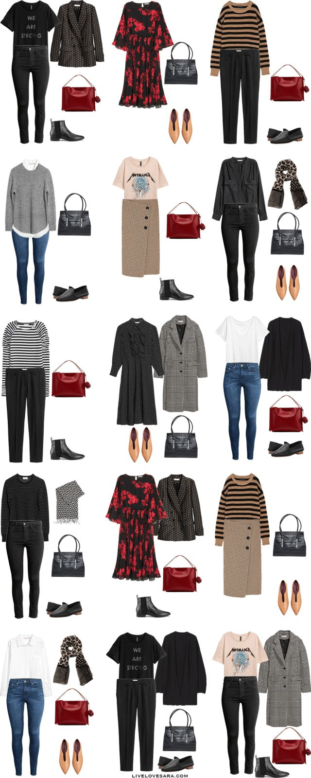 55 Best Capsule Wardrobe Images On Pinterest