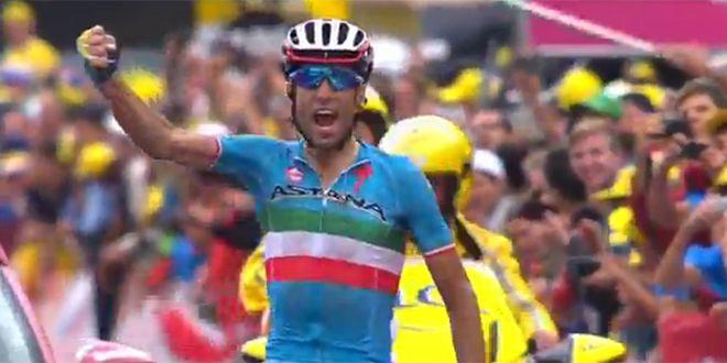 Vincenzo Nibali (Astana) vainqueur a La Toussuire (73)