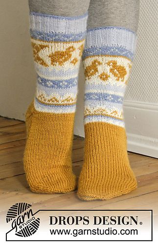 Ravelry: 0-1102 Chicken Dance pattern by DROPS design