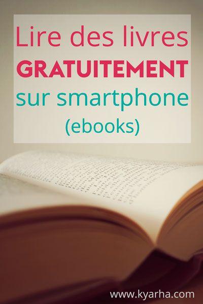 Profitez de votre smartphone ou tablette pour lire gratuitement des livres électroniques (ebooks) passés dans le domaine public. Une mine d'or pour les passionnés de grand classique :)