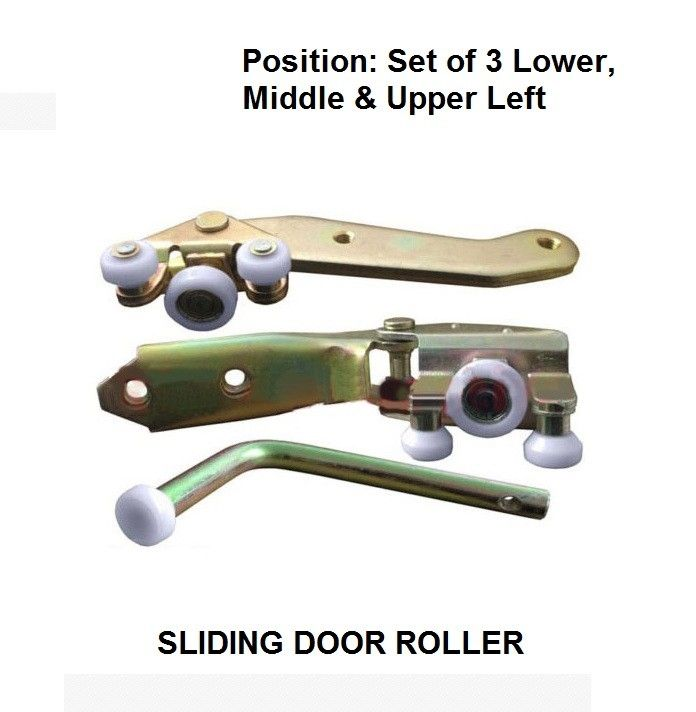82.99$  Watch here - http://alivaw.shopchina.info/go.php?t=32809982578 - x3 PICECS FOR VOLKSWAGEN TRANSPORTER T4 1990-2004 SET OF 3 SLIDING DOOR ROLLER LOWER , MIDDLE & UPPER LEFT SIDE  #magazineonlinebeautiful