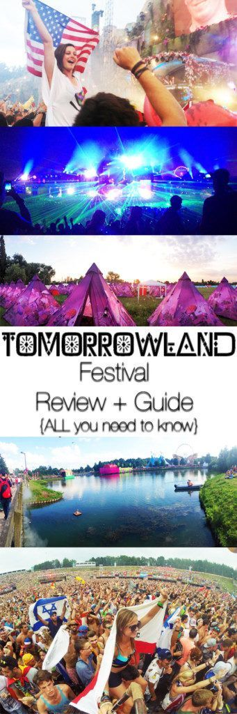 This Tomorrowland Festival Review + Guide will tell you all you need to know about this incredible, great-vibe, world famous festival in the heart of the Belgian Countryside. It's broken down into 18 Categories - I would be surprised if I missed something, but am always here to answer more questions! :)