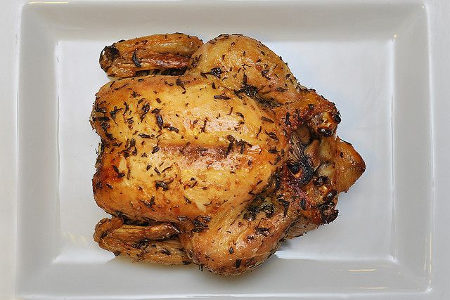 Herb Roasted Whole Chicken from The Pioneer Women.....made this recipe twice now....easy and delicious!