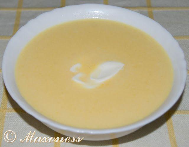 Крем-суп из тыквы. Мексиканская кухня.