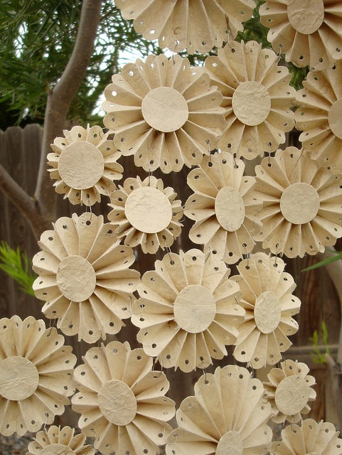 Beautiful paper flower that may be a nice add-on to your gift wrapping!