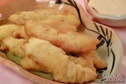 Receita de Isca de peixe - Comida e Receitas