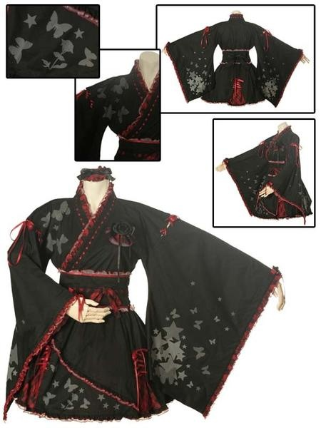 I found 'Gothic Lolita Star Temptation Yukata (l032) Gothic Lolita - Japanese [Cosmates]' on Wish, check it out!