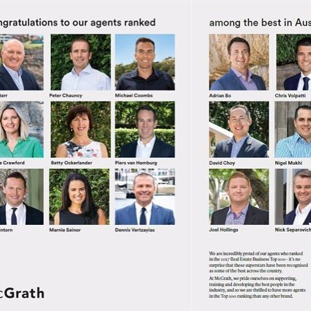Very proud to have been included in the McGrath list of top agents in Australia. I get an amazing opportunity each weekend to do the best for my vendors and that is its own reward. #marnieseinor #mcgrath #rea #realestate #property #easternsuburbs #mcgrathagent #sydneyproperty #sydneyrealestate #sydneypropertysales #sydneypropertyprices #realestateagent #sydneyrealestateagent