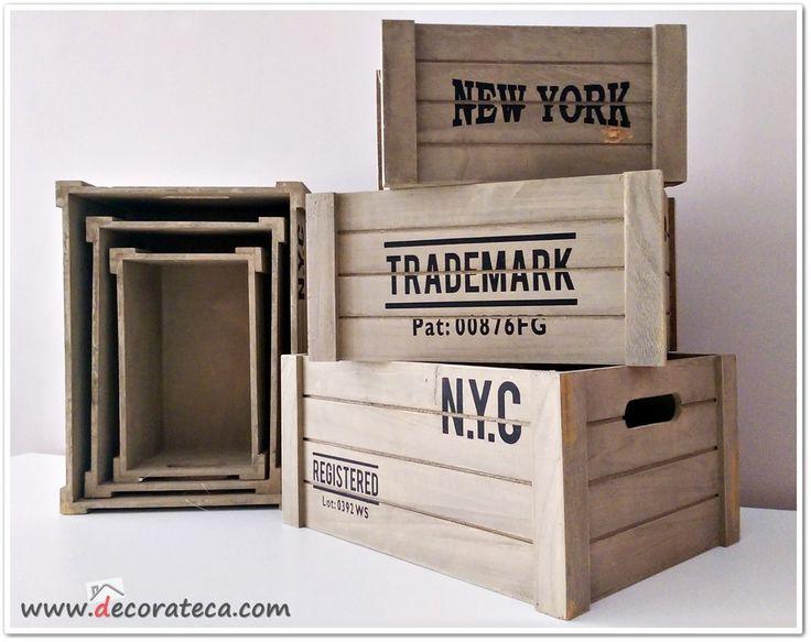 M s de 1000 ideas sobre comprar cajas de madera en - Cajas madera baratas ...